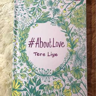 About Love - Tere Liye Preloved
