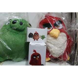 全新《Angry Birds 禮品套裝》1套(可散買)