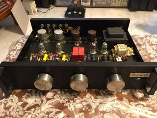 Tube Preamp with 5 GE tubes
