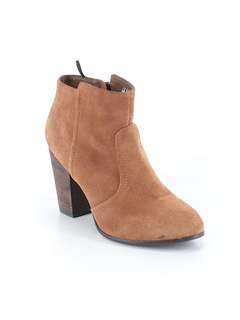Ankle Boots Suede Brown