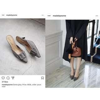 Doma kitten heels (Grey)