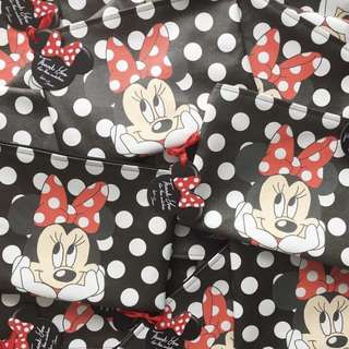 🚚 CUSTOM MAKE UP POUCH minnie mouse disney