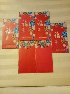 🌸NetLink Trust Red Packets (6 nos)