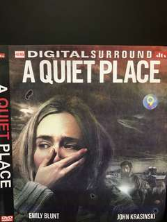 🚚 DVD English movie, A Quiet Place