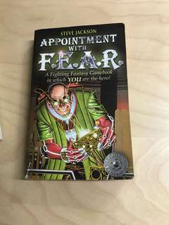 Appointment with fear gamebook