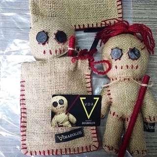 Paket E money dan Boneka Voodoo