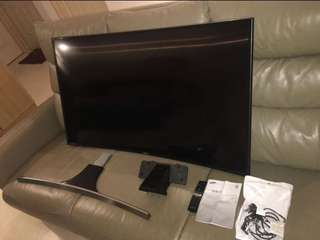 SAMSUNG CURVE ULTRA HIGH DEFINITION TV
