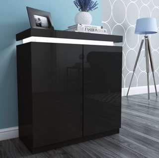 Looking for black shoe cabinet with length more than 100cm.