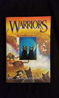 WARRIORS ~ Fire and Ice (book 2) by Erin Hunter