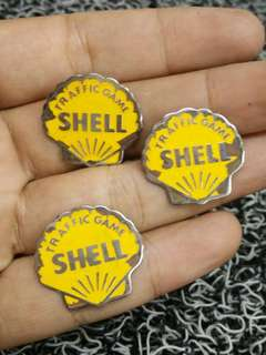 LENCANA BADGE SHELL