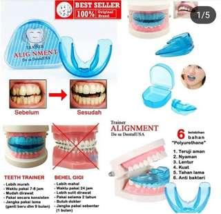 Orthodentic retainer teeth