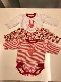 Long sleeve romper (3-9 months)