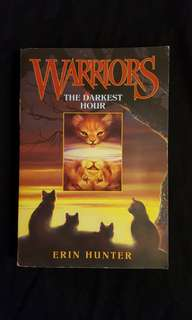 WARRIORS ~ The Darkest Hour (book 6) by Erin Hunter
