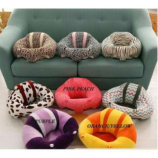 *FREE DELIVERY to WM only / Ready stock* Baby bean bag each as shown in design/color. Free delivery is applied for this item.