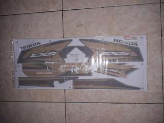 Honda ex5 sticker original