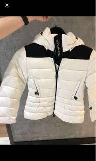 (New and real) Moncler Giubbotto Courchevel jacket youth XL 童裝XL Woman XS with authentic code check