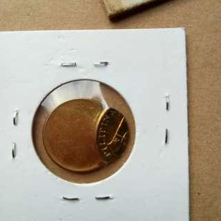 Error Five Centavo Philippine Coin