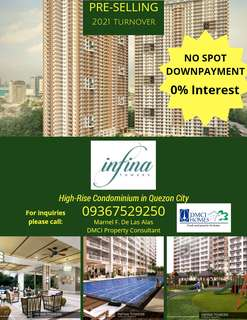 Condo in QC * INFINA TOWERS