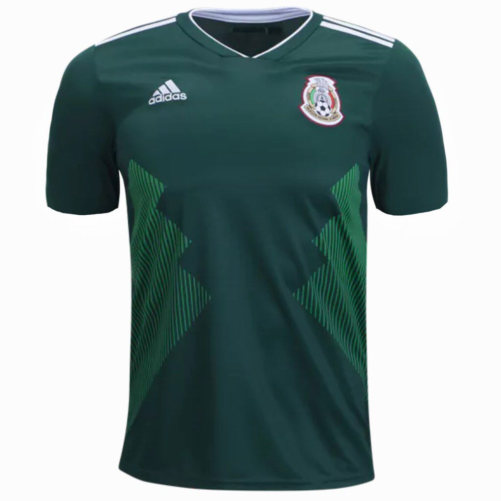 Adidas Mexico Home and Away Jersey Kit on Carousell