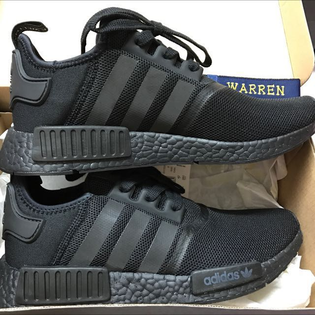 new concept a2856 69cee Adidas NMD_R1 Triple Black Monochrome S31508