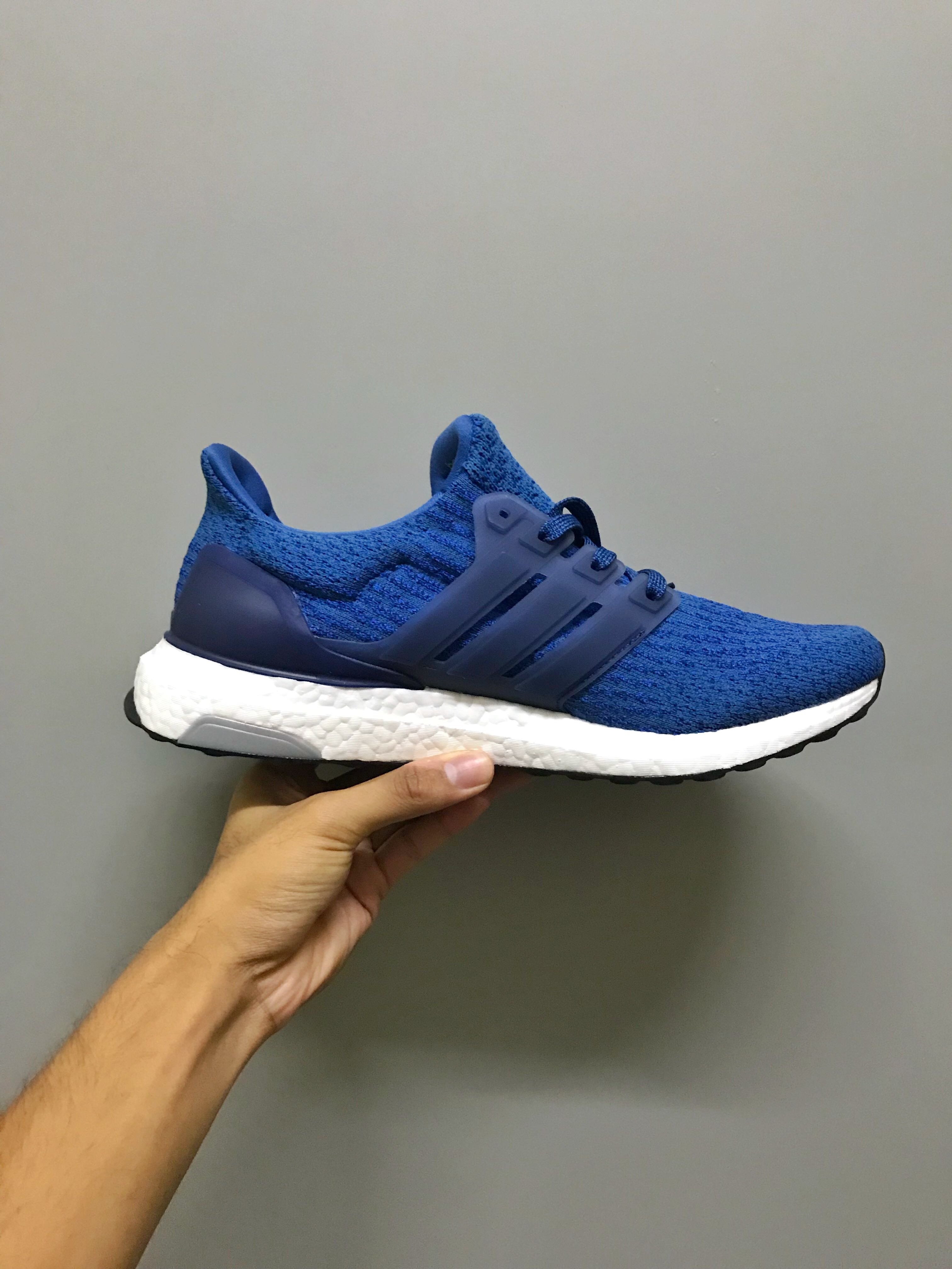 watch 8bcec 40a53 ... running shoes royal blue white 349a8 5fbae free shipping adidas  ultraboost royal blue mens fashion footwear on carousell cef65 61854