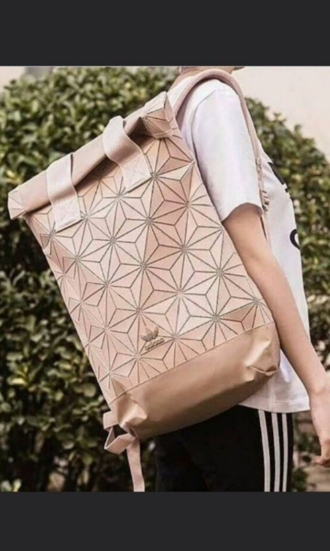 Adidas Issey Miyake Backpack Pink Blue Multicolour 4d5069f75be8b