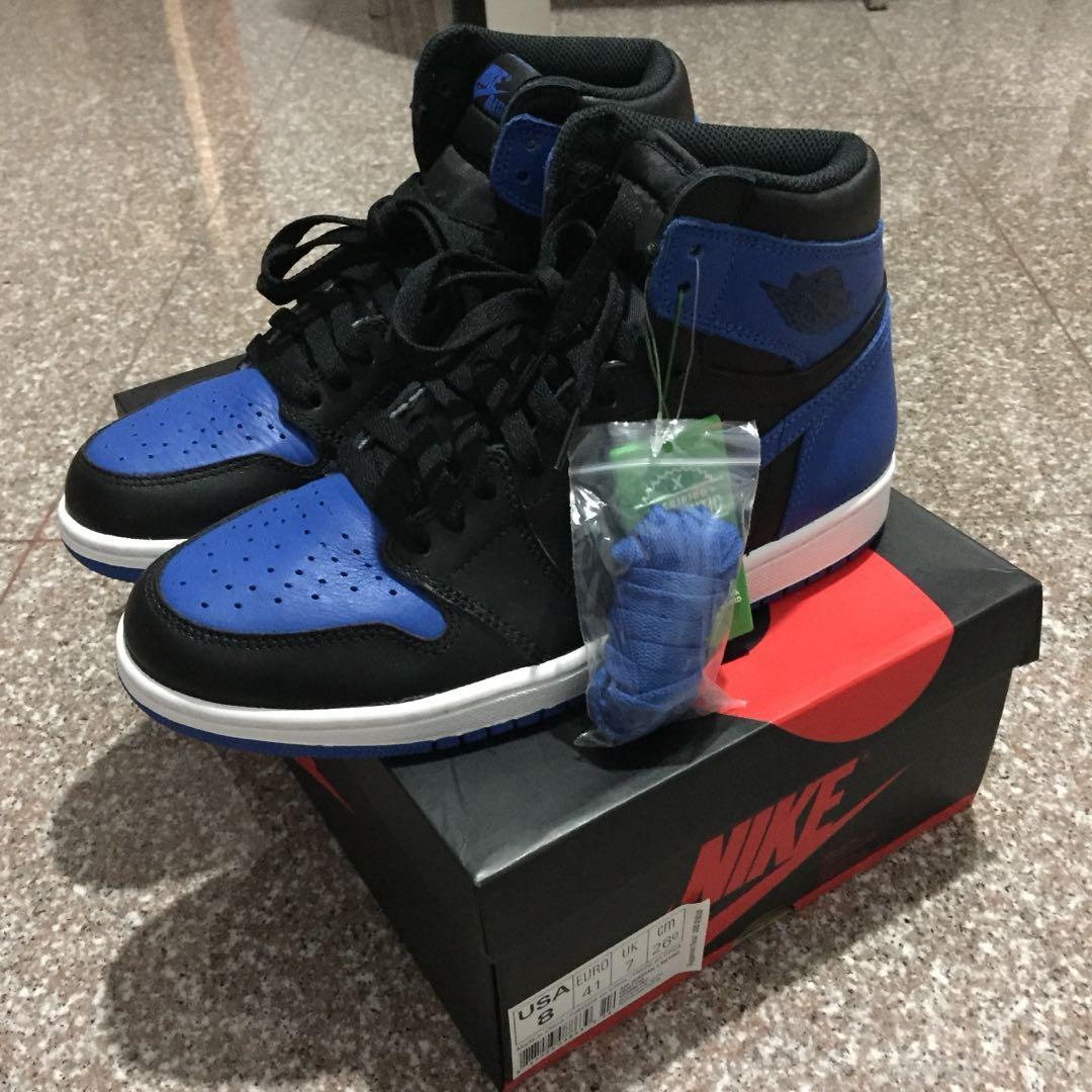 923f0ef2c6ad04 Air Jordan 1 royals blue us8