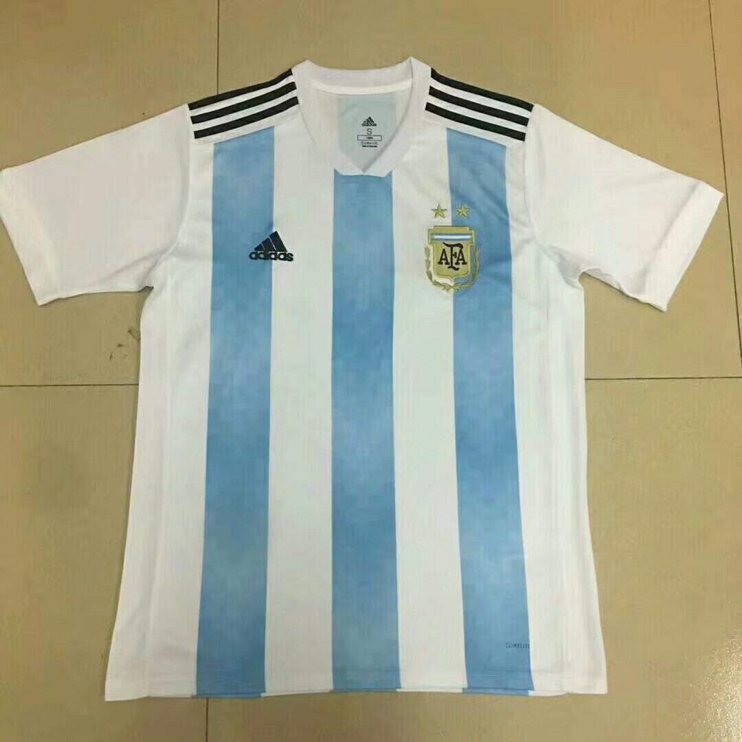 bb4d7b02c7c Argentina World Cup 2018 Home Short Sleeve Kit