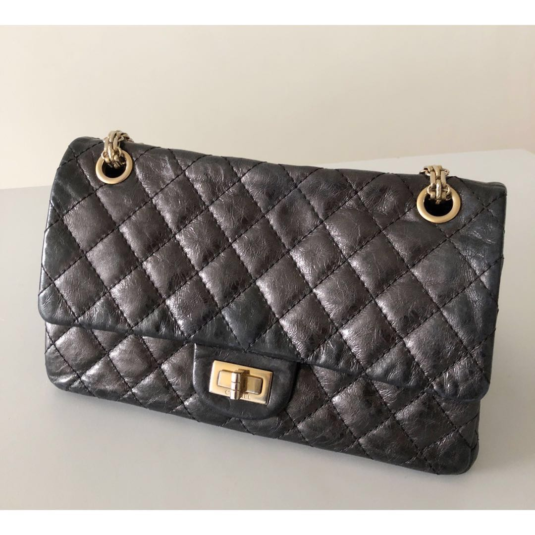 fb3966e24685 Chanel Reissue Accordion Bag with gold hardware, Luxury, Bags ...