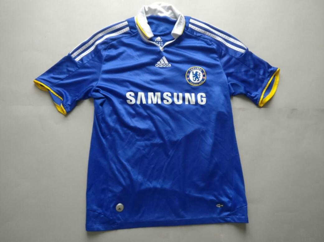finest selection 65eba 45e64 Chelsea Adidas Home Kit 2008-2009 Jersey SS Men Original