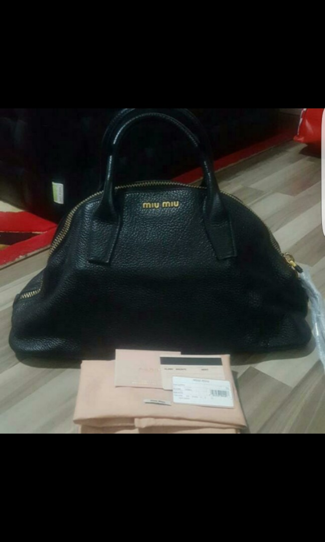 021dd9646bce Clearance Sale   Brand New Authentic Miu Miu Bag