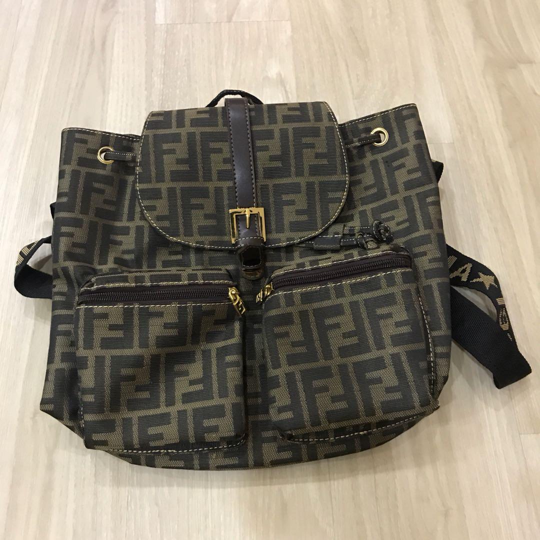 1b11a16d859b Fendi backpack vintage classic womens fashion bags wallets jpg 1080x1080 Vintage  fendi backpack