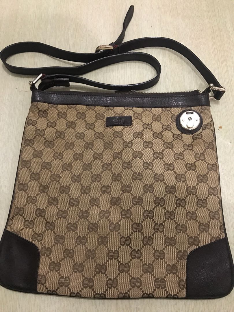 04ea0b4e6521 Gucci Sling Bag, Luxury, Bags & Wallets on Carousell
