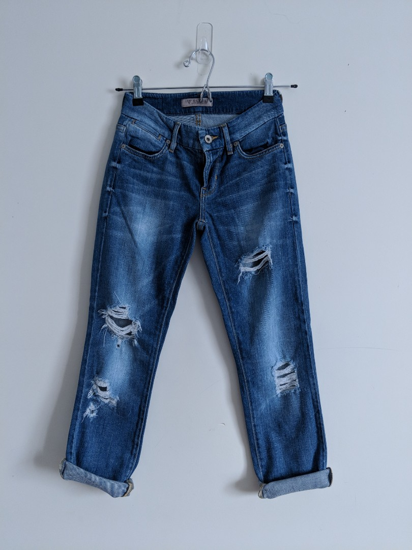 Guess Rippes Jeans 3/4 Length