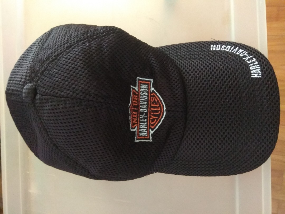 04985bfb095653 Harley Cap, Men's Fashion, Accessories, Caps & Hats on Carousell