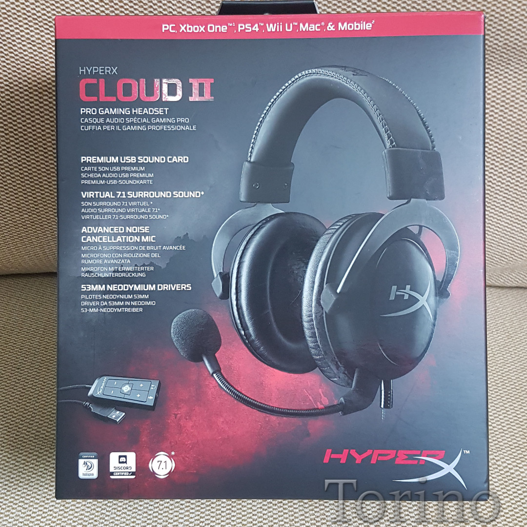 Hyper X Cloud 2 II Gun Metal Black Gaming Headset / Headphone ...