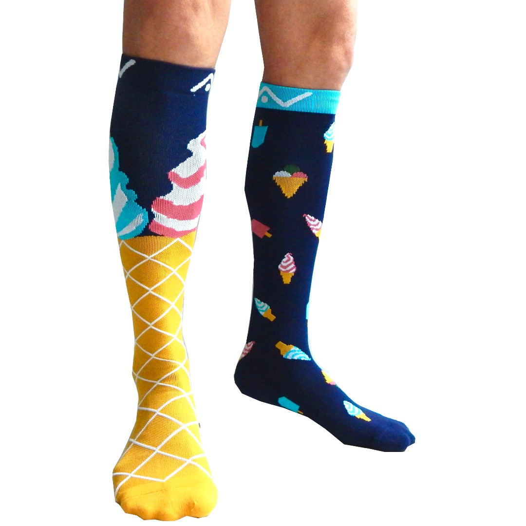 7e9d8260837 Ice-Cream   Popsicle Compression Socks (1 pair) by A-Swift ...