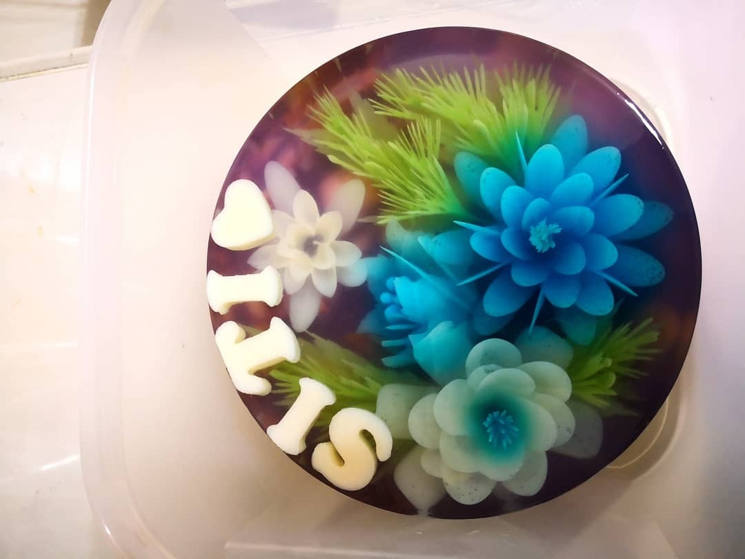 jelly 3d cakes
