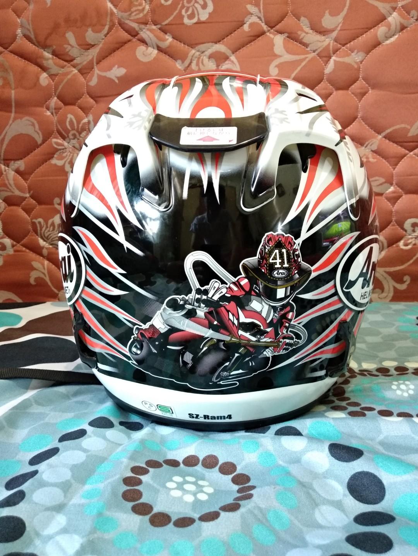 Jual Helm Arai Ram4 Super Copy Noriyuki Haga Not Agv Tsr Shoei Kbc Motor Di Carousell