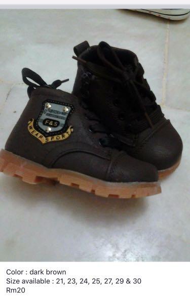 9ee798aa579240 Kasut boot budak kanak-kanak
