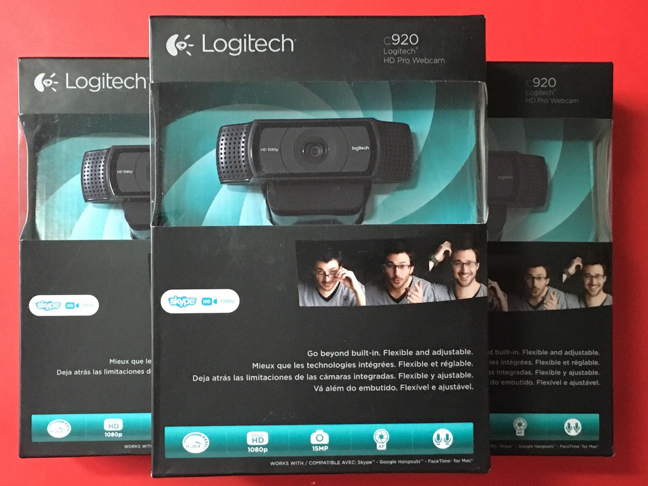 Logitech C920 Logitech Hd Pro Webcam C920 Widescreen Video