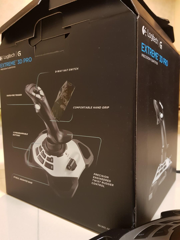 Logitech Extreme 3d Pro, Electronics, Computer Parts