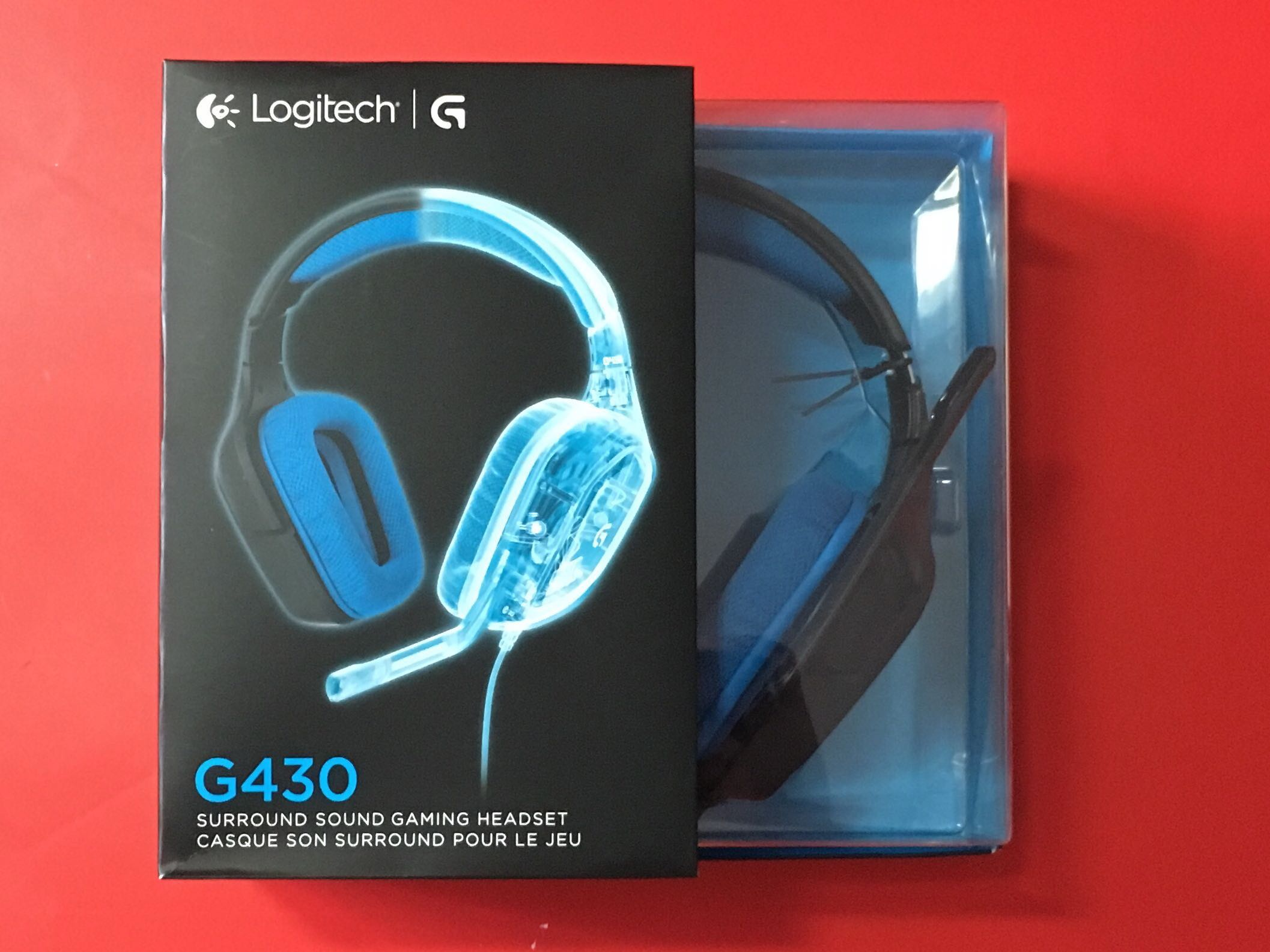 Logitech G430 71 Dts Headphone X And Dolby Surround Sound Gaming