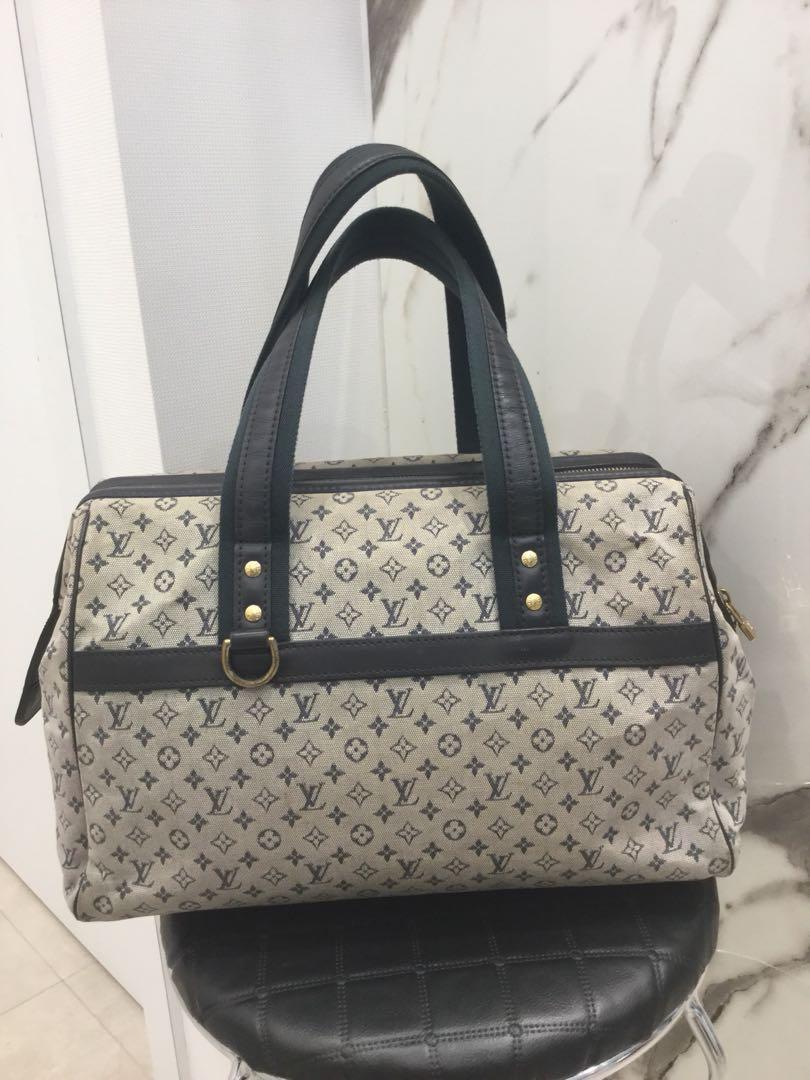 louis vuitton mini lin josephine gm satchel luxury bags wallets