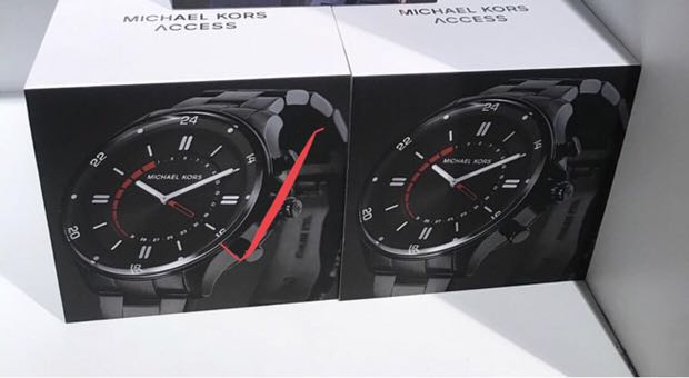 eee9c87ef30c Michael Kors Reid Black Smartwatch