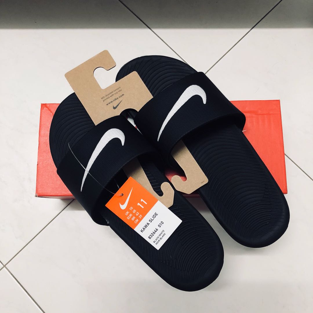 6b67d8aa564327 nike kawa slides uk10us11