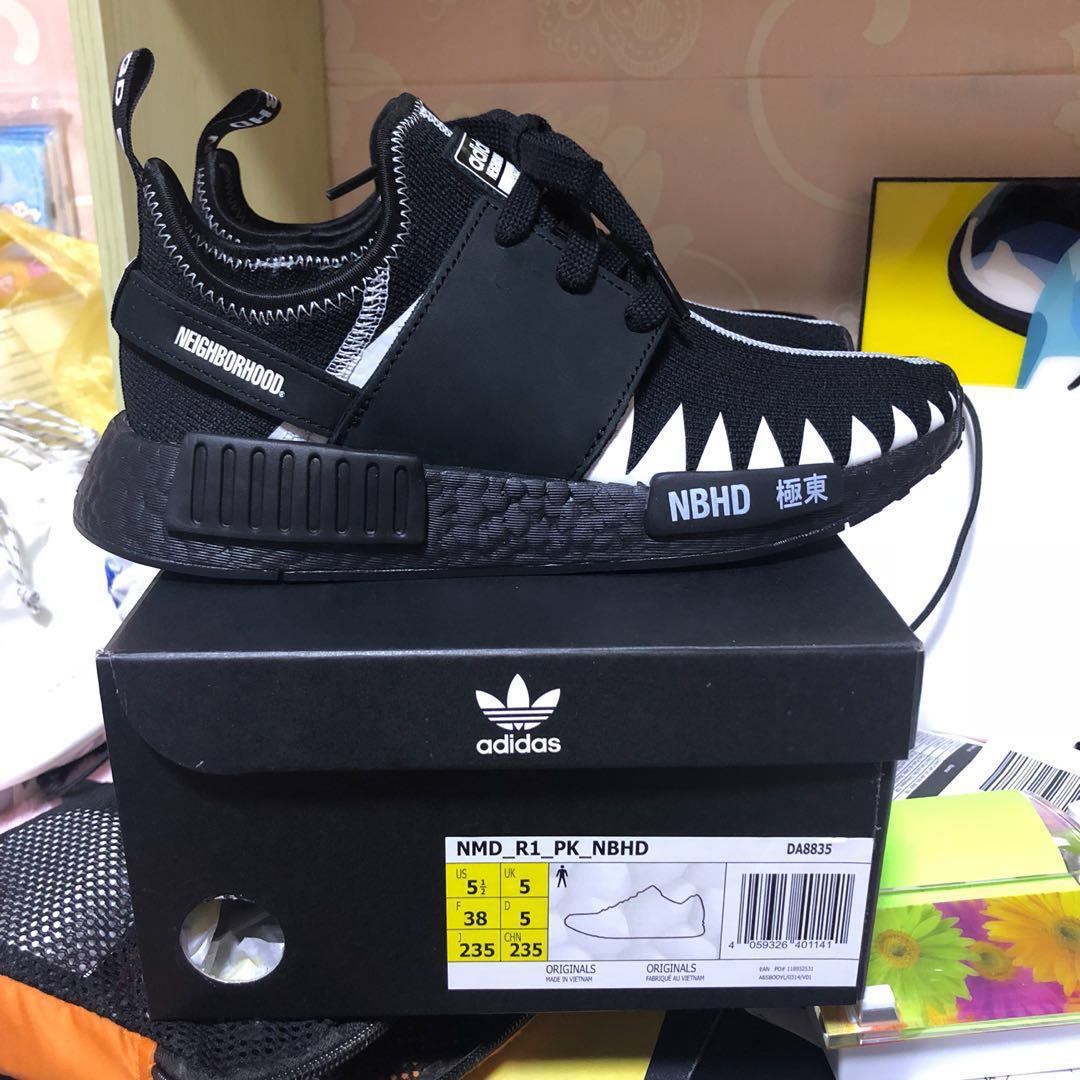 new styles 6759d c1e24 NMD R1 PK NBHD, Men's Fashion, Footwear, Sneakers on Carousell