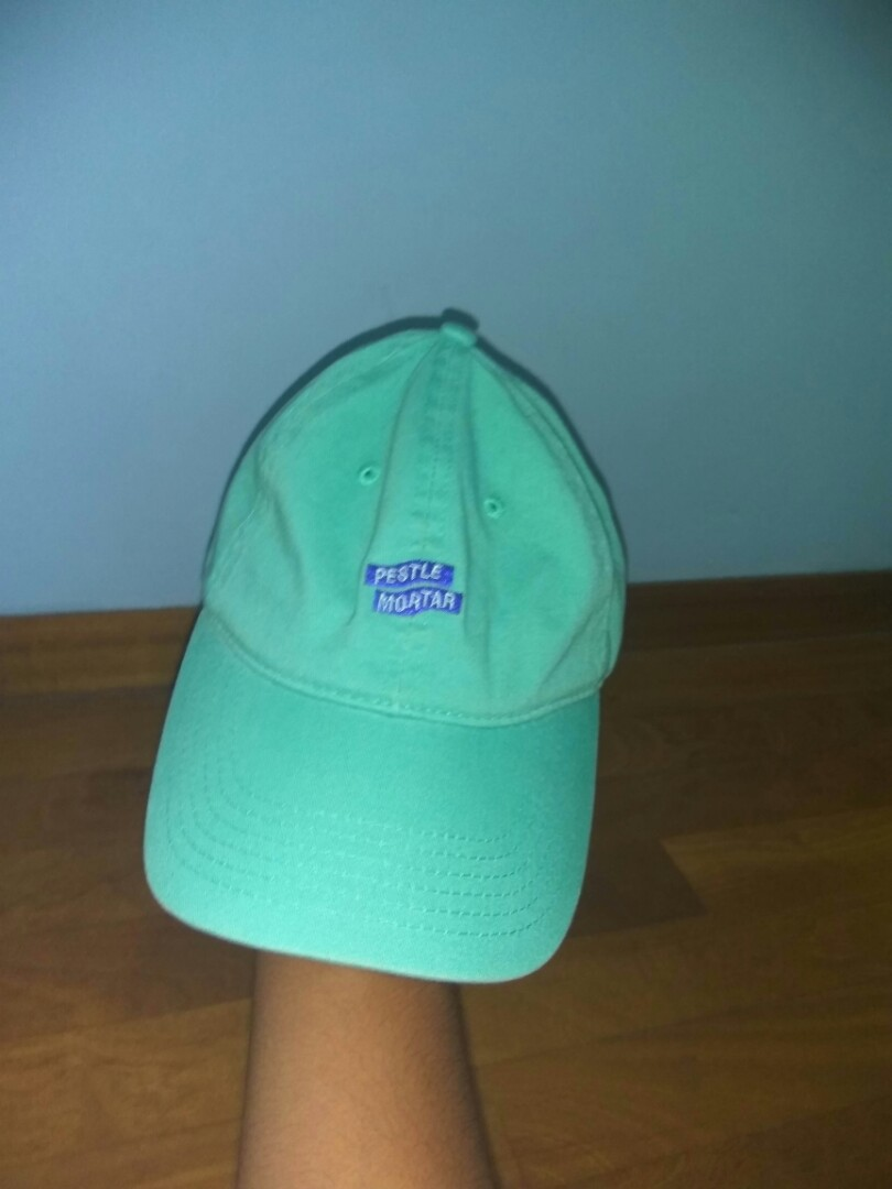 0134a518fb2612 Pestle and Mortar mint green baseball cap, Men's Fashion ...