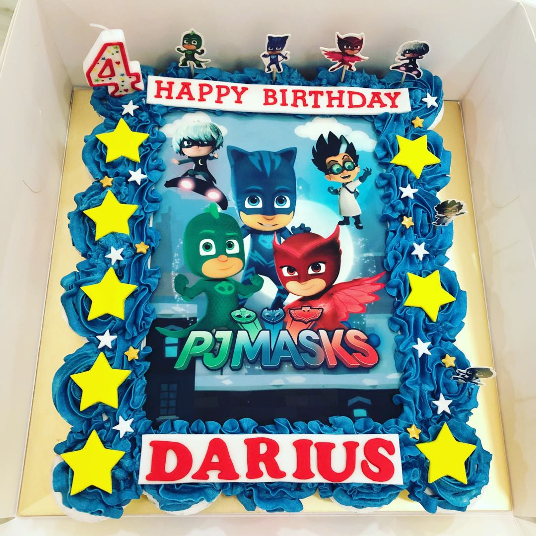 Pj Masks Pullapart Cupcakes Cake Food Drinks Baked Goods On