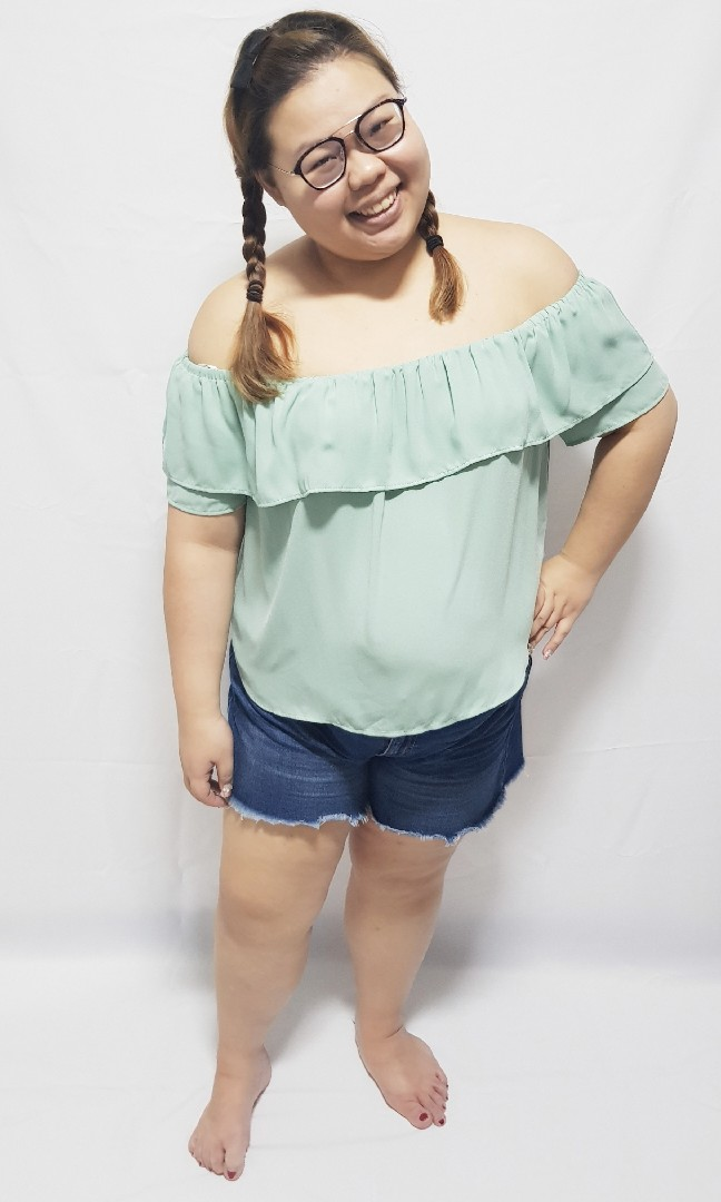 b77132eb6dc Plus size Off Shoulder Top from forever 21